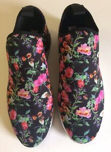 8df1fb35293 New Steve Madden Women s Speed Fashion Sneakers Floral Size 7.5 M