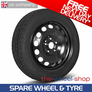 "16"" bmw 1 series f20 and f21 - 2011 - 2016 full size spare steel"