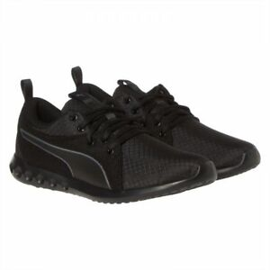 a3e88e9c672 PUMA CARSON 2 RIPSTOP SNEAKERS ALL BLACK MENS SHOES SOFT FOAM 13US ...
