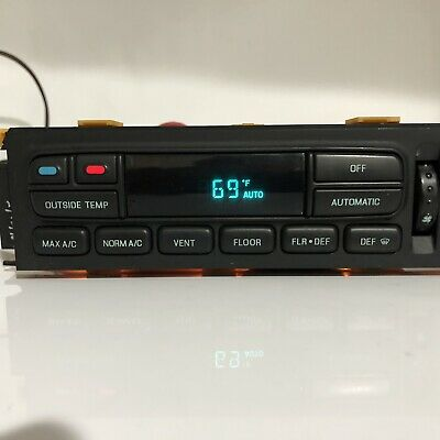 REMAN 96-97 Lincoln Town Car AC Heater Climate Temperature Control EATC Exchange