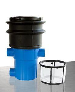 3 P Filtro Giardino Per Montaggio Interrato Del Serbatoio Acqua