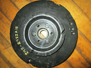 Mercury Mariner NOS  248-8722a15  FLYWHEEL 4 cyl 40hp 87 to 97 Updated 1 pc cast