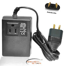 Seven Star Transformer 200W Step Down 220/110+Australian New Zealand Adapter