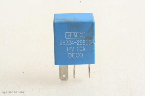 Hyundai HMC Kia 95224-29850 Relais 12V 20A blau DECO Matrix Sonata etc.