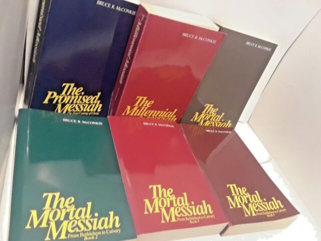 The Mortal Messiah Series- Bruce R McConkie- Soft cover in Box