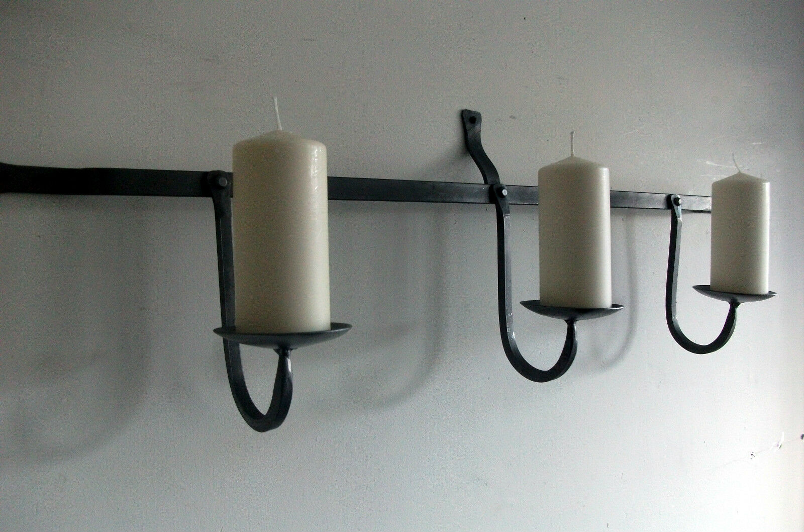 Lámpara de parojo vela Gótico agudos Rack, Iglesia, Hierro