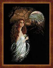 Midnight (Gothic Scene) Cross Stitch Kit - Riolis - (R1032) - 35cm x 45cm