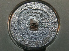 Niue Islands 2014- Canyon Diablo Meteorite, $1, ONLY 666 MADE! Antique, + box!