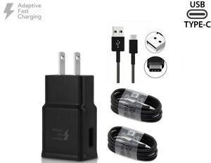 Details about For BlackBerry Key2 Adaptive Fast Charger Set [Wall Charger +  4 ft Type C Cable]