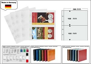 1-look-1-7397-Coin-Sheets-Premium-2-Compartments-190-x-122-mm-for-Coin-Folder
