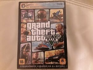 Details about Grand Theft Auto V GTA 5 for PC DVD-BOX-NEW Russian Version 6  DVD