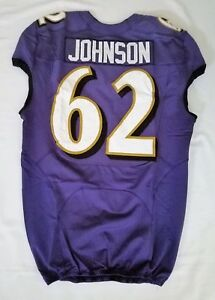 62-Johnson-of-Baltimore-Ravens-NFL-Locker-Room-Practice-Worn-Jersey-BR1704