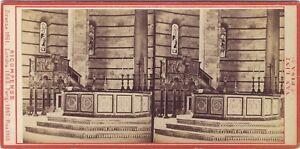 Van Lint Pisa Battistero Italia Stereo Albumina Ca 1865