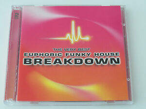 The Very Best Euphoric Funky House Breakdown 2 x CD Album Used Very Good - Home, United Kingdom - The Very Best Euphoric Funky House Breakdown 2 x CD Album Used Very Good - Home, United Kingdom