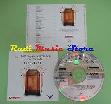 CD 100 CANCIONES NUESTRA VIDA 1963-1973 VOL 6 compilation PROMO 1993 (C28)