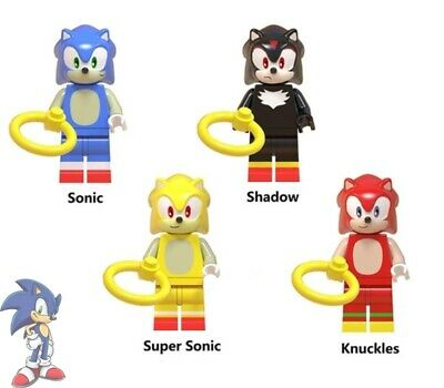 Sonic The Hedgehog Mini Figure Fit Lego Movie Toy Kids Collection Bday Gift 6Pcs