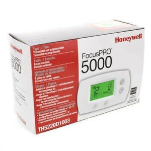 Honeywell-Focus-Pro-5000-TH5220D1003-Electronic-Wall-Thermostat