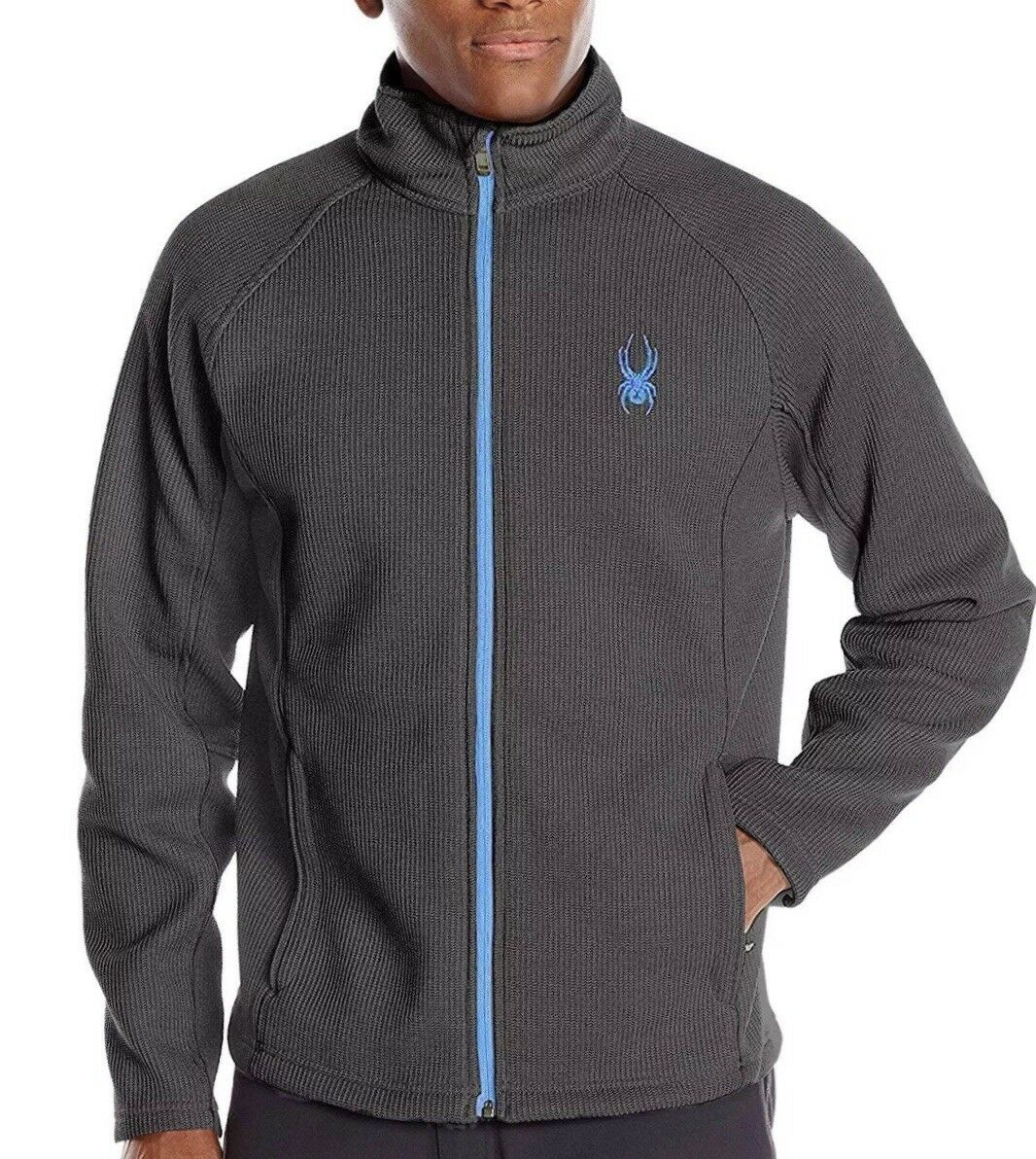 NEW Spyder Mens sz  XL, Constant Full Zip Mid Weight Stryke Fleece SALE,reg  139  for your style of play at the cheapest prices