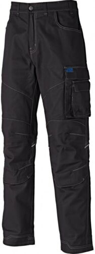 Dickies Camden Multiple Pocket Cargo Work Trousers Black Various Sizes