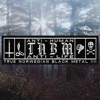 UrgehalEmbroidered PatchTrue Norwegian Black Metal Band