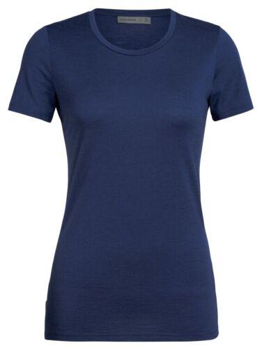 Icebreaker Tech Lite Short Sleeve Low Crewe Women Damen T-Shirt Merino