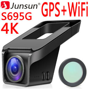 Junsun-S695G-4K-FHD-2160p-GPS-Autokamera-Dashcam-DVR-Video-Recorder-Vehicle-WiFi