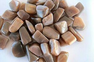 One-Golden-Feldspar-Dark-Tumbled-Stone-20mm-Reiki-Healing-Crystal-Grief-Aquarius