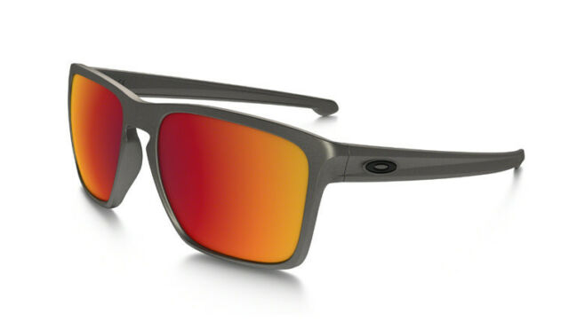 606cdadce9 Oakley Sliver XL Oo9341 08 Lead Torch Iridium Authentic Sunglasses ...