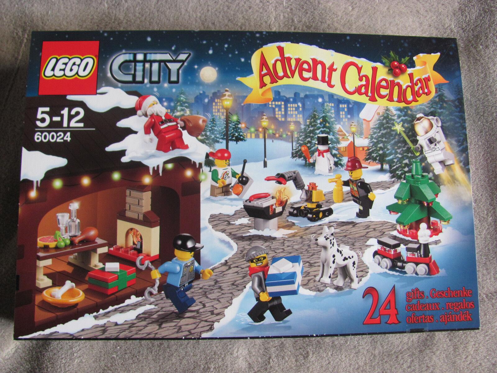 LEGO City Advent Calendario 60024 NUOVO & OVP Essen