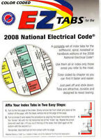2008 Color Coded Ez Tabs Nec Code Book Nfpa National Electric Code Same Day Ship