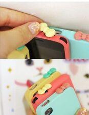 3 Bouchons anti-poussière noeud papillon pour prise écouteur iPhone,IPod,iPad...