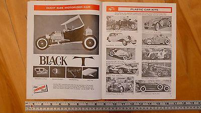 LINDBERG  MODEL KITS 1969 1970 OLD BROCHURE CATALOG CATALOGUE VINTAGE ORIGINAL