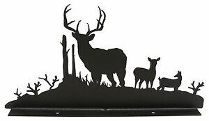 Buck-Deer-Wildlife-Mailbox-Topper-Decor-Front-View
