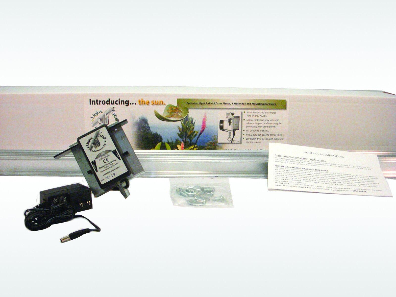 Presentamos Light Rail 4.0 Extreme Duty versión adjustadrive Kit Luz mover