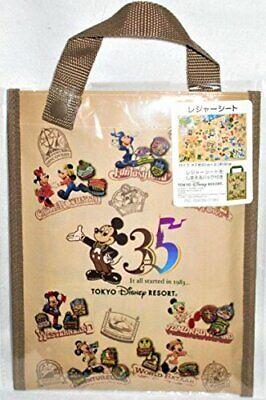 New Tokyo Disney Resort 35th Anniversary Pass Case History Art TDR 35th F//S