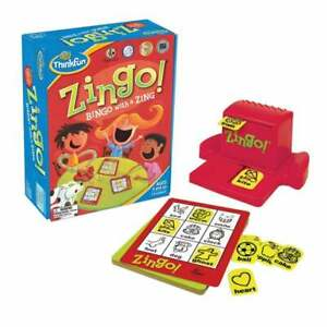 Think-Fun-Zingo-Bingo-with-a-Zing-Age-4-Kids-Activity-UK-seller-amp-In-Stock