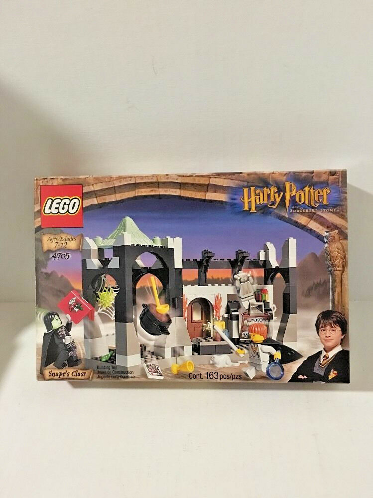 New Lego Lego Lego 4705 Harry Potter Snape's Class 2001 Building Set 163 Pieces e29abd