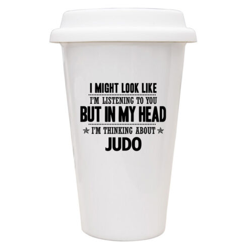 IN MY HEAD I/'M POWER LIFTING Novelty//Funny Printed Coffee Mug Gift//Present 384