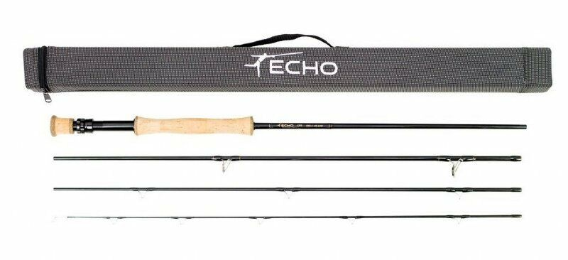 Echo EPR 690-4 Fly Rod - 9' - 6wt - 4pc - NEW - Free Fly Line
