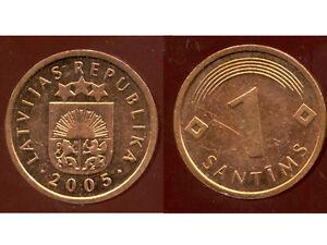 LETTONIE-1-santims-2005-bis