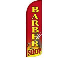 Barber Shop Windless Standard Size Polyester Flag Sign Banner