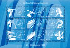Italia Repubblica 2006 Bf 41 Olimpiadi invernali di Torino MNH