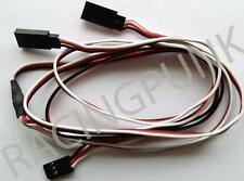 600mm 60cm Y MICRO & STANDARD Servo Extension Lead Wire FUTABA Connector Plug RC