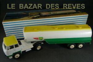 DINKY-TOYS-FRANCE-Camion-UNIC-citerne-BP-REF-887-Boite-lot2