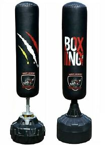 We R Sports Boxing Free Standing Heavy Duty Punch Bag Stand MMA Kick Strike UFC