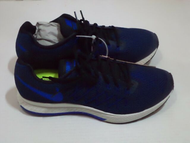 cc8e6152326d Nike Men s Air Zoom Pegasus 32 Running Shoe Size 7.5 Color Black Racer Blue