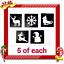 Kit-de-Tatuaje-Brillo-Navidad-o-plantillas-de-recarga miniatura 7