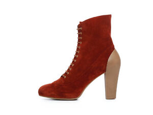GEOX STIVALETTO DONNA D LAURENCE ST D24X4N 00022 SCAMOSCIATO COGNAC