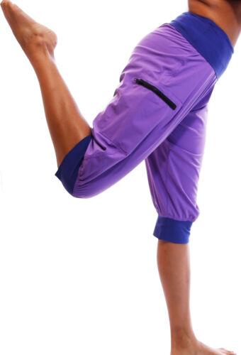 Fitness Workout Exercise Gym Dance Cargo Capri Pants