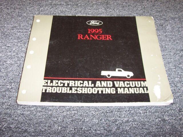1995 Ford Ranger Electrical Wiring  U0026 Vacuum Diagram Manual Xl Xlt Stx Sport